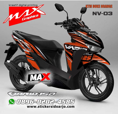 decal new vario maxgraphica cutting sticker sidoarjo