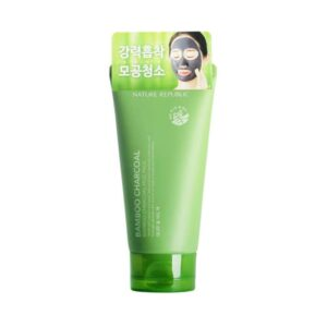 5. Nature Republic Bamboo Charcoal Mud Pack